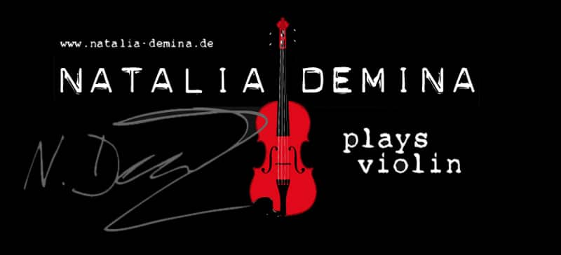 Natalia Demina Musikerin Geigerin Violinistin